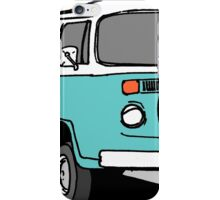 Turquoise VW Bus iPhone Case/Skin