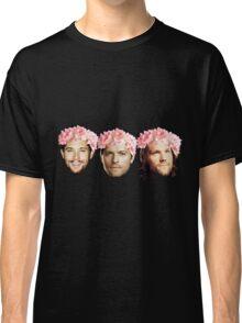 Jared Padalecki, Jensen Ackles, and Misha Collins Classic T-Shirt