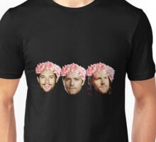 Jared Padalecki, Jensen Ackles, and Misha Collins Unisex T-Shirt