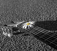 Daisy Guitar by Alexandra Dellaportas