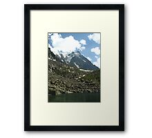 Aiguille du Midi from Lac Bleu, France 2015 Framed Print