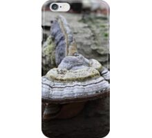 Geotropism of a bracket fungus. iPhone Case/Skin