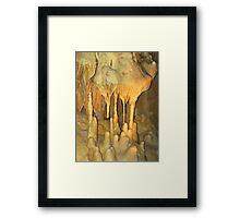 Columns of Ancient Past Framed Print