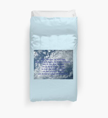 The Heaven of Heavens Duvet Cover