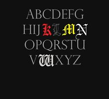 Death Note Alphabet Pullover