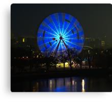 Ferris wheel - Birrarung Marr, Melbourne Canvas Print