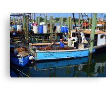 Small Fishing Trawler at Point Judith, RI [11] Canvas Print