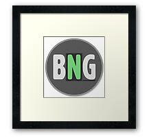 bare naked gaming Framed Print
