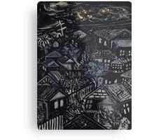 Wonky Windows - Windy Night Metal Print