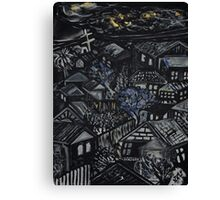 Wonky Windows - Windy Night Canvas Print
