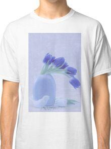 Tulips And Birdies  Classic T-Shirt