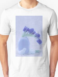 Tulips And Birdies  T-Shirt