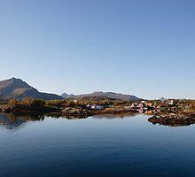 Quiet harbor, Lofoten, 2 by intensivelight