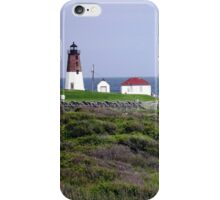 The Point Judith, RI Lighthouse [12] iPhone Case/Skin