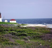 The Point Judith, RI Lighthouse [12] by Schoolhouse62