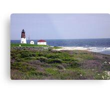 The Point Judith, RI Lighthouse [12] Metal Print