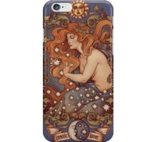COSMIC LOVER - Color version iPhone Case/Skin