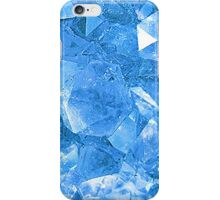 Blue crystals iPhone Case/Skin