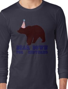Bear Down For Midterms Long Sleeve T-Shirt