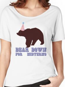Bear Down For Midterms Women's Relaxed Fit T-Shirt