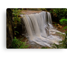 Somersby Falls 6-11-10 (side shot). Canvas Print
