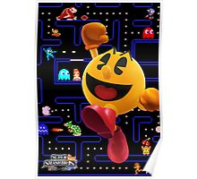 Pac-Man Hungers for Battle! Poster