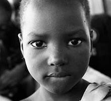 Young Lady - Burkina Faso by Nick Bradshaw