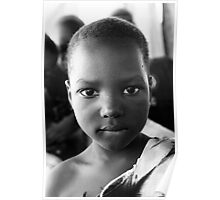 Young Lady - Burkina Faso Poster