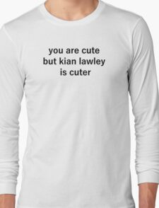kian cute Long Sleeve T-Shirt