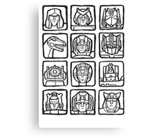 Transformers Rogue Gallery Canvas Print