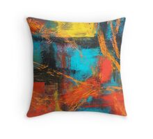 Abstract III Throw Pillow