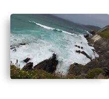 We Left These Shores Canvas Print