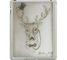 Gentleman Deer iPad Case/Skin
