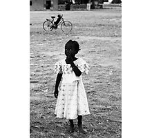 Cutest Girl in Africa - Burkina Faso Photographic Print