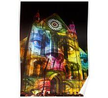 Illuminating York Minster Poster