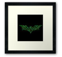 Riddle me this..? Framed Print
