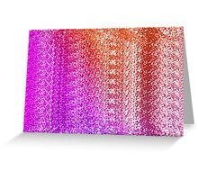 Trendy Bright Ombre Textured  Greeting Card