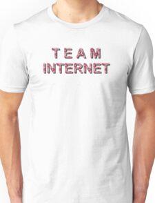 team internet red Unisex T-Shirt