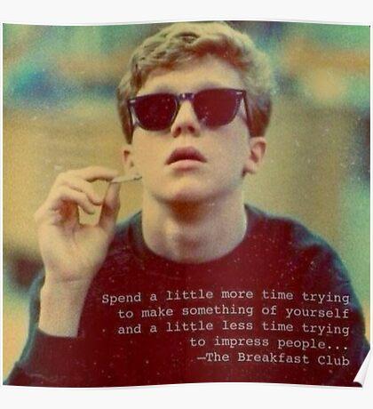 Breakfast Club 1 Poster