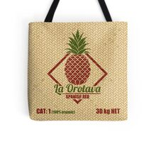 Fruits - Pineapple Basket Tote Bag
