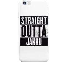 STRAIGHT OUTTA JAKKU iPhone Case/Skin