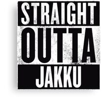 STRAIGHT OUTTA JAKKU Canvas Print
