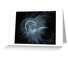 Angelic Fractal Greeting Card