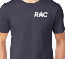 RAC - Recovery and Apprehension Coalition - White Unisex T-Shirt