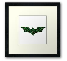 Riddle me this..?! 2 Framed Print