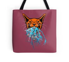 Cat Barf Mouse Heads Tote Bag