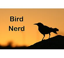 Bird Nerd Photographic Print