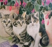 Three Little kittens (2) by Jorja