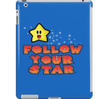 Follow Your Star Nintendo Style iPad Case/Skin