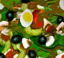 Spinach Salad Sticker
